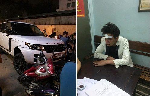 Hinh anh Danh tinh ten cuop xe Range Rover tong lien hoan tren pho Ha Noi