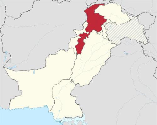 Tỉnh Khyber-Pakhtunkhwa ở miền bắc đất nước. Đồ họa: Wiki