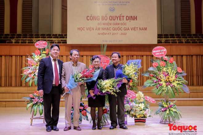 Bổ nhiệm Giám đốc Học viện Âm nhạc Quốc gia Việt Nam - ảnh 3