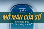 Video: Vì sao cần mở màn cửa sổ khi máy bay cất và hạ cánh?