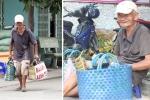 Nỗi đau chồng nỗi đau của người cha già bán bánh nuôi con tật nguyền ở Sài Gòn