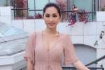 'Bom gợi cảm' Quỳnh Thy thả dáng sexy tại Mỹ