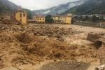Video: Cận cảnh hiện trường hoang tàn sau lũ quét ở thị trấn Mù Cang Chải