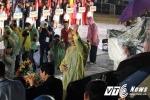 Thủ tướng đội mưa dự khai mạc Đại hội thể thao Bãi biển châu Á tại Đà Nẵng
