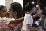 Clip: Con trai bí mật gây bất ngờ, Hồ Ngọc Hà xúc động hôn Subeo