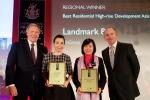 Vingroup giành giải nhất Bất động sản quốc tế năm 2016