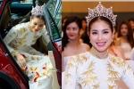 Phạm Hương đội vương miện, đi xe sang đến sự kiện