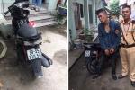 Trộm xe máy gắn định vị, bị CSGT tóm gọn
