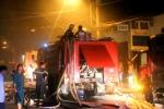 Hơn 100 cảnh sát chữa cháy xưởng sản xuất bao bì ở TP.HCM