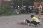Xe container va chạm xe máy, một phụ nữ chết thảm