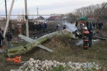 Rơi trực thăng Mi-8 của Nga, 3 người thiệt mạng