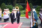 Lễ đón Thủ tướng Singapore Lý Hiển Long