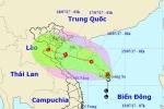 Áp thấp nhiệt đới có khả năng thành bão, hướng vào Hải Phòng