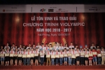 Hinh anh Trao giai cuoc thi Violympic: Gan 4500 hoc sinh duoc vinh danh | Giao duc