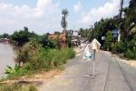 An Giang xuất hiện điểm sạt lở báo động cách Vàm Nao 10 km