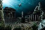 Thành phố huyền thoại Atlantis mất tích ở đâu?