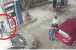 Cán bộ ngân hàng đánh nữ nhân viên bán xăng bị tạm đình chỉ công tác