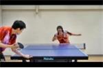 Cao thủ bóng bàn trổ tài điệu nghệ khiến người xem mãn nhãn