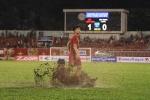 Công Phượng ghi 2 bàn, U22 Việt Nam thắng tưng bừng trận 'thủy chiến'