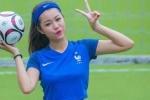 Hot girl Hà thành xinh đẹp dự đoán đội tuyển Pháp vô địch Euro 2016