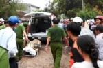 Hiện trường tàu hỏa tông xe hơi làm 4 người chết thảm ở Bình Định