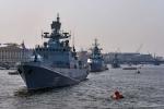 Dàn chiến hạm hùng hậu của Nga tề tựu về Petersburg
