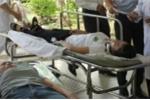 Sau bữa ăn trưa, 57 công nhân nhập viện cấp cứu