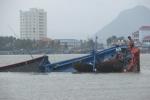Trục vớt 3 tàu cá bị chìm sau bão số 2