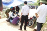 Giúp dân dọn lũ, một tình nguyện viên bị xe tải cán chết thảm