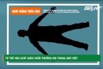 Tư thế nào giúp giảm chấn thương khi thang máy rơi?
