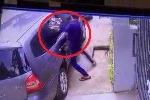 Clip: Phá kính, trộm đồ trong ôtô 'quá nhanh, quá nguy hiểm'