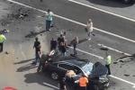 Video: Tài xế 'ruột' của ông Putin thiệt mạng sau tai nạn thảm khốc trên cao tốc