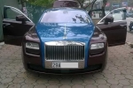 Rolls-Royce Ghost chục tỷ đổi màu ở Hà Nội