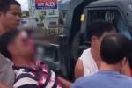 Lộ diện thanh niên hung hăng cầm gạch ném vỡ kính xe tải khiến 1 người thương nặng