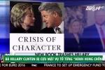 Bà Hillary Clinton bị cựu mật vụ tố từng 'hành hung chồng'