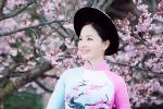 Lan Phương đẹp dịu dàng với tà áo dài trên đất Nhật Bản