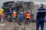 Tàu cao tốc Pháp trượt đường ray, nhiều người thiệt mạng