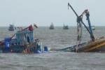 Tàu cá bị tàu nước ngoài đâm chìm, một ngư dân thiệt mạng