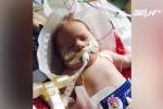 Kỳ diệu bé sơ sinh sống lại sau 22 phút ngừng thở