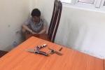 Cướp xe máy liều lĩnh rút dao tấn công CSGT giữa phố Hà Nội