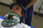 Cười và hắt hơi: Người phụ nữ bị trật đốt sống cổ
