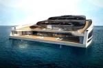 Siêu du thuyền thành rạp hát giữa đại dương