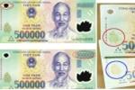 Thực hư có thể nhận biết tiền giả qua các chữ cái đầu seri