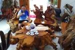 Bộ bàn ghế gỗ sưa đỏ nghìn tuổi vô giá của đại gia Quảng Nam