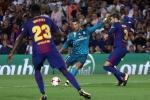Ronaldo nhận thẻ đỏ, Real vẫn đại thắng Barca