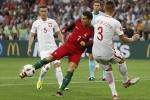 Đổi áo tìm vận may, Ronaldo vẫn tịt ngòi trận thứ tư ở Euro 2016