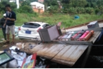 Xe của Công an TP.HCM gặp tai nạn, 4 người thương vong