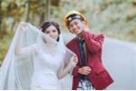 Ảnh cưới 'phiên bản thợ xây' của cặp đôi trẻ Hà Tĩnh gây 'sốt'
