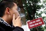 Hút thuốc lá sai chỗ, sẽ bị phạt cả triệu đồng
