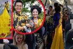 MC Thanh Bạch và vợ đại gia lại làm lố khiến ai cũng phải ngoái nhìn